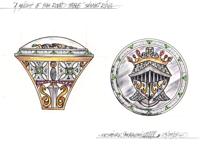 Knight Of The Round Table Ring